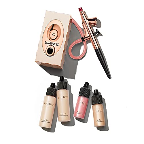 Luminess Air Icon Pro Airbrush System with Fair Starter Kit, 24 Oz