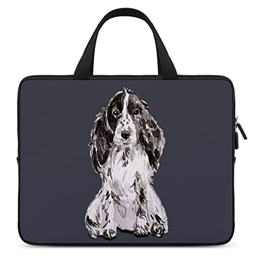 Laptop Protective Case,MacBook Briefcase,Notebook Computer Sleeve Bag,13inch,Cover for Apple/MacBook/HP/Acer/Asus/Dell/Lenovo/Samsung,Color of Dog Mammal English Springer Spaniel