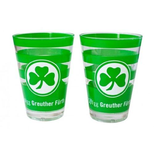 Greuther Fürth Acryl-Gläser (2er-Set)
