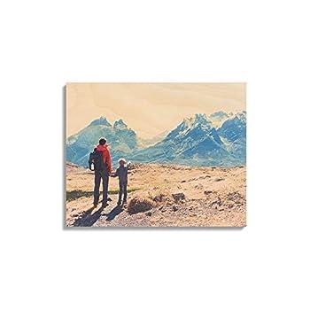 Custom Birch Wood Wall Décor – 8x10