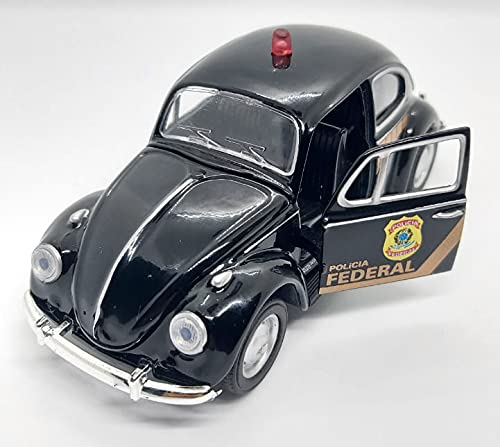 Miniatura Volkswagen Fusca Polícia Federal