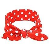 1X Baby Velvet Big Bow Tie Head Wrap Turban Top Knot Headband For Newborn Kids