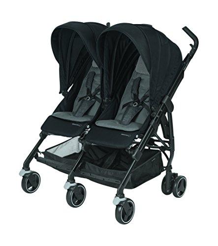 Bébé Confort Dana for 2, compacte dubbele kinderwagen (voor tweelingen en gelijkmatige kinderen), kleur naar keuze