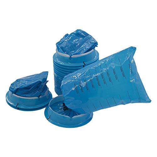sacchetti per vomito, monouso sacchetti vomito da viaggio bambini,sacchetti per lo smaltimento dei rifiuti, sacchetti per auto e aerei, sacchetti per malattia da viaggio (24PCS)