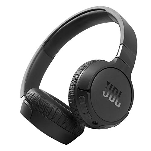 JBL Tune 660NC: Wireless On-Ear Headphones with Active Noise Cancellation - Black
