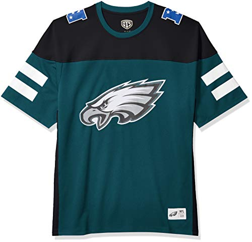 OTS NFL Philadelphia Eagles Men's Alton Jersey, Team Color, X-Large