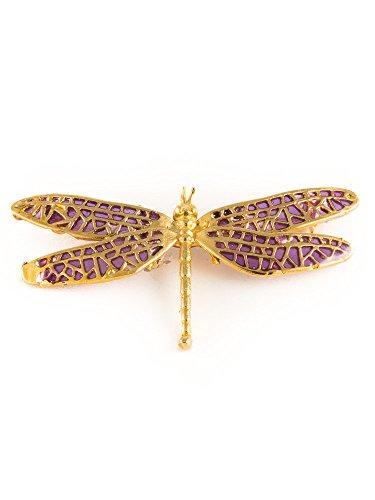 Cecchi - broche con forma de libélulas