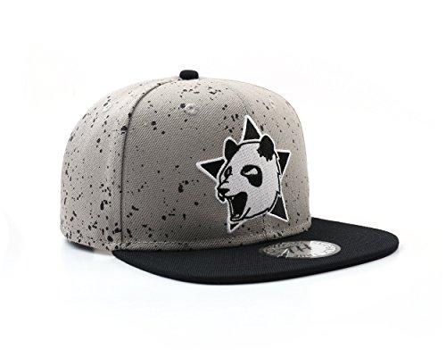 Casquette de baseball Panda gris True Heads