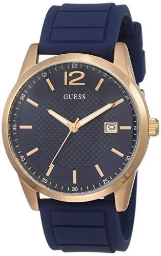 Guess Reloj Analogico para Hombre de Cuarzo con Correa en Silicona W0991G4