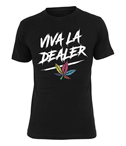 SDP T-Shirt Viva la Dealer, Farbe:schwarz, Größe:S