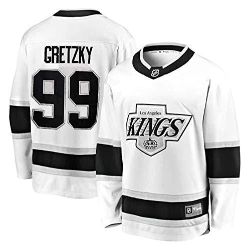 Eishockey Trikots Kings # 11 Kopitar # 99 Gretzky # 32 Jersey Atmungsaktive Sweatshirts Langarm T-Shirt S-XXXL (Color : 1, Size : XXL)