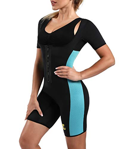 Ribika Damen Saunaanzug, Neopren, Schwitzweste, Taille, Trainer, Gewichtsverlust -  -  Mittel