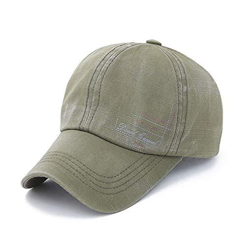 Hat Baseball Cap hat Hip-hop Men's hat Sun hat Green