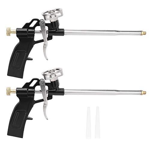 2 pièces d'isolation de pistolet à mousse de pulvérisation élargissant l'outil d'application de...