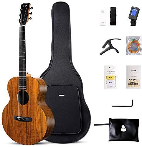 """Enya Acoustic Guitar 41"""" Left Handed HPL 4/4 Size Guitar(EA-X1L)"""