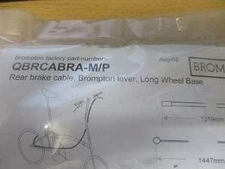 Brompton Rear Brake Cable, Trigger, Long Wheel Base for M/P Handlebars QBRCABRA-M/P