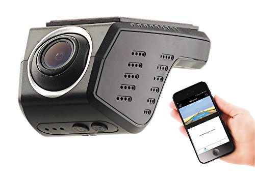 NavGear WiFi Dashcam Android App: Unauffällige HD-Dashcam, G-Sensor, WLAN, App-Steuerung, Android & iOS (WLAN Kamera Auto Android)