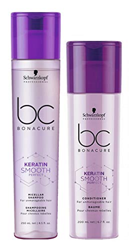 Schwarzkopf BC Bonacure Smooth Perfect Duo Shampooing 250 ml et après-shampooing 200 ml