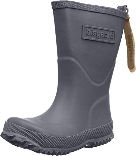 Bisgaard Unisex-Kinder Rubber Boot Basic Gummistiefel, Grau (70 grey), 27 EU