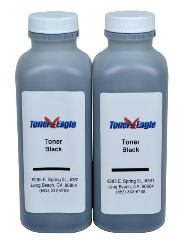 Toner Eagle Toner Refill Kits with Chips. [Black, 2-Packs], Compatible with Lexmark X264dn X264dnw X363dn X364dn X364dw Photo #2