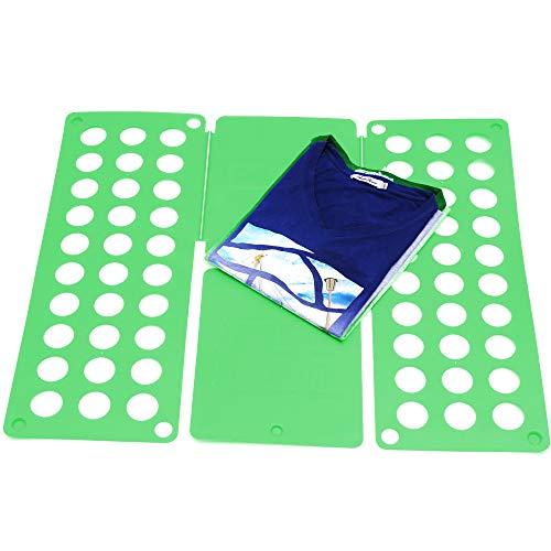 Takit Tabla para Doblar Ropa Verde - 70x59cm - Tabla para Doblar Camisas - Tabla para Doblar Vestidos Pantalones Toallas Camisetas/Organizador De Ropa