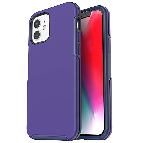 Krichit Ongoing Series Compatible with iPhone 12 Mini case (2020), Anti-Drop and Shock-Absorbing case Compatible with 5.4-inch iPhone 12 Mini case (Sapphire Blue)