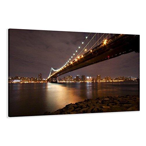 Visario Bild & Kunstdruck der Deutschen Marke 120 x 80 cm 5056 Bilder auf Leinwand Kunstdrucke New York Wandbild