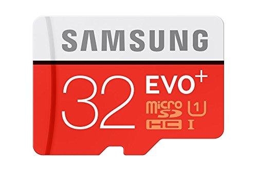 Samsung Speicherkarte MicroSDHC 32GB EVO Plus UHS-I Grade 1 Class 10, für Smartphones und Tablets, mit SD Adapter