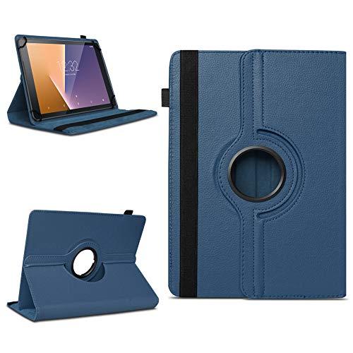 Tablet Schutzhülle Vodafone Tab Prime 6 / 7 360° drehbar Tasche Cover Case Etui , Farben:Blau