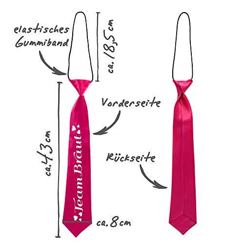 JGA Krawatten, pink - 3