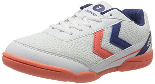 Hummel Root Jr 3.0 LC, Zapatillas de Balonmano Unisex Adulto, Multicolor (Living Coral 3654), 37 EU
