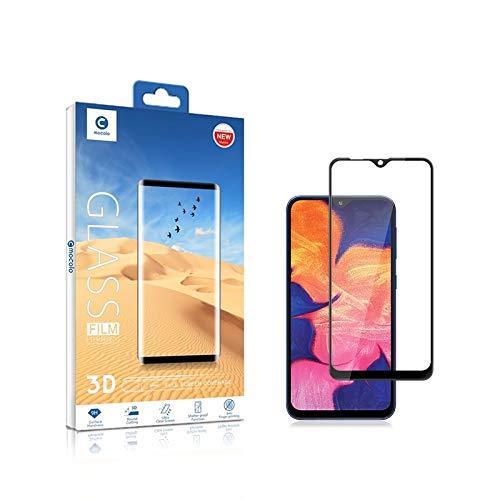 LIDGRHJTHTGRSS Handy-Zubehör Bildschirmschutz 0.33mm 9H 3D Tempered Glass Film for das Galaxy A10