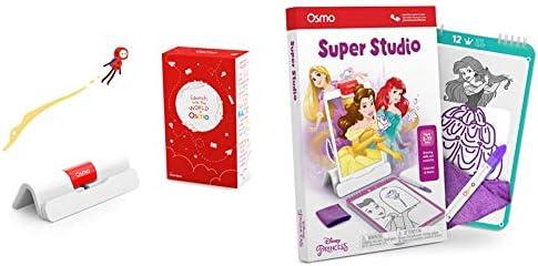 Osmo - Super Studio Disney Princess Game + iPad Base Bundle (Ages 5-11) (Osmo iPad Base Included)