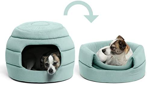 Best Friends by Sheri Convertible Honeycomb Cave Bed Cozy Covered Dog Cat Tent Great for Your product image