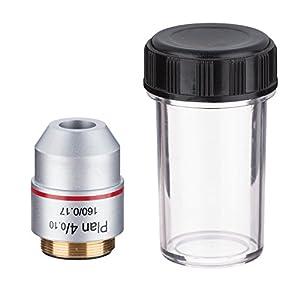 AmScope PA4X 4X Plan Achromatic Microscope Objective