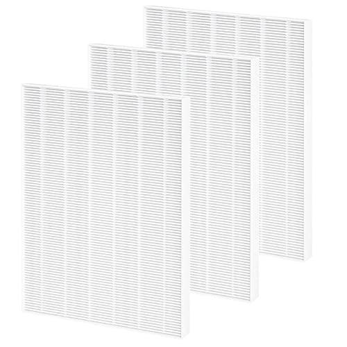 GVANIAMY 115115 Size 21 Replacement Filter A Compatible with Winix C535, Winix PlasmaWave 5300, 6300, 5300-2, 6300-2, P300 Plasma wave Air Purifier, True HEPA Filter Only 3 Pack