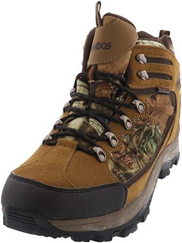 Nevados Men's Tucson Mid Waterproof Hiking Boot,Dark Chestnut/Shiitake/Camouflage,14 M US