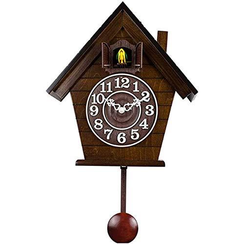 Reloj Pared, Decorativo Moderno para Sala De Estar, Dormitorio Oficina Interior Funciona con Pilas Cuarzo Decoración El Hogar Diseño Antiguo Grande Números Romanos