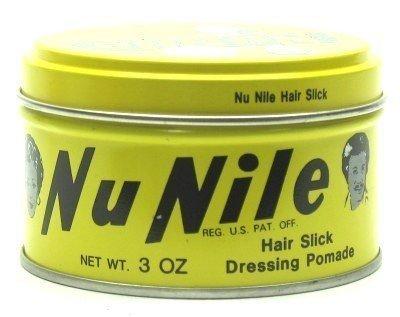 Murrays Nu Nile Hair Slick Dressing Pomade 89 ml Jar (3-Pack) by Murray's