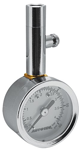 Hot Max 28060 Dial Tire Gauge, 10 to 60 PSI