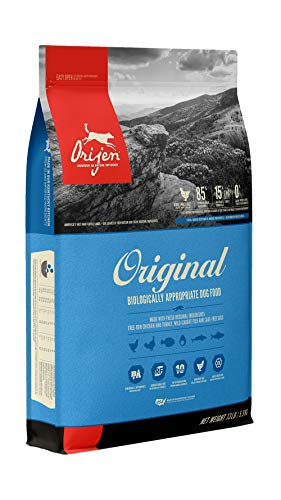 Orijen Grain-Free, High-Protein Quality Meat Premium Dry Dog Food