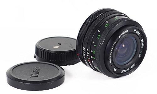 Vivitar 28mm f2.8Weitwinkel MC Objektiv mit A C/FD-Halterung für Kameras mit FD, C/FD -