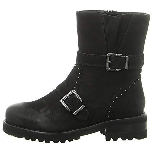 Tizian Damen Stiefeletten Boston 04 Boot T62904-VL10-100 schwarz 572342