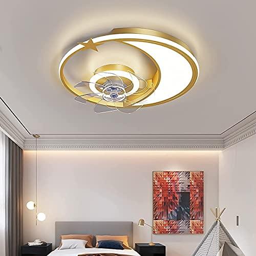 Ventilatori a soffitto con lampade e silenzioso remoto GUIDATO Ventilatore a soffitto dimmerabile 3 velocità ventola ventola luce per soggiorno camera da letto camera da letto camera da letto lampade