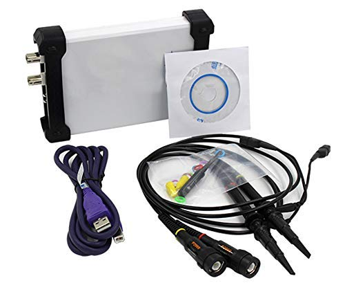 SISHUINIANHUA Dual Channel USB Digital Oszilloskop 20M Bandbreite 48M Sampling Spektrumanalysator + Datenrekorder