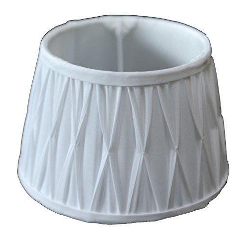 Lampenschirm Plissee Weiß TL 30-20-17