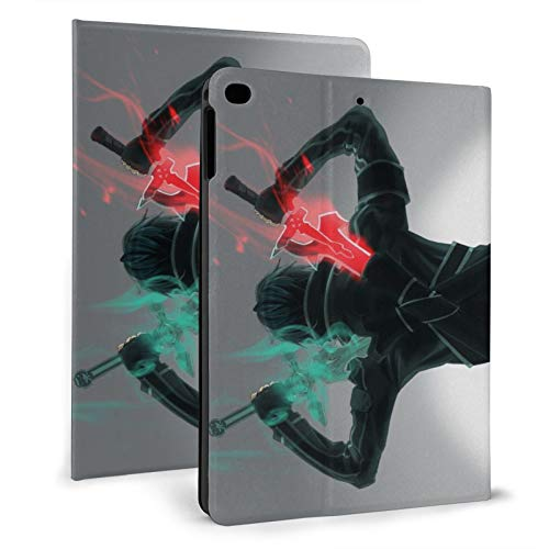 Anime Sword Art Online iPad Case Auto Wake/Sleep, Suitable for iPad mini4/5 7.9', iPad air1/2 9.7