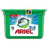 Ariel Todo En Uno Pods Frescor De Los Alpes Detergente En Cápsulas, Con Lavado A 30 °C Y Perfume Duradero, 18 Lavados