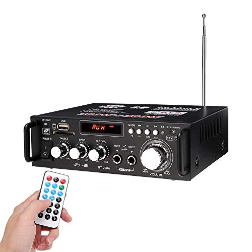 JIASHU Bluetooth Professional Home Audio Amplifier System - 600w Audio...