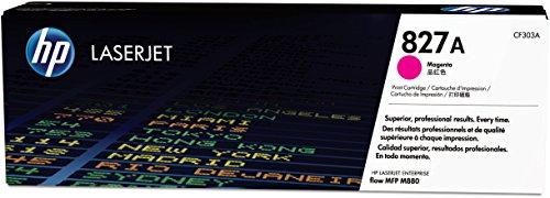 HP CF303A 827A Original LaserJet Toner Cartridge, Magenta, Pack of 1